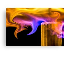 Exotic Flame Canvas Print