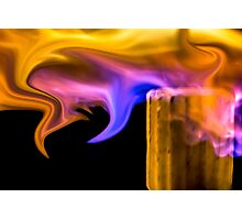 Exotic Flame Photographic Print