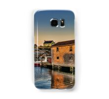 Sunset at Peggy's Cove III Samsung Galaxy Case/Skin