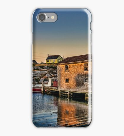 Sunset at Peggy's Cove III iPhone Case/Skin