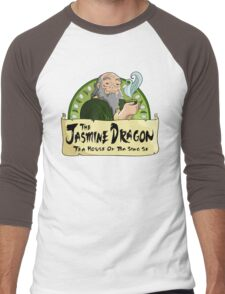 The Jasmine Dragon Tea House Men's Baseball ¾ T-Shirt