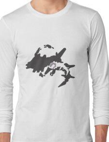 Mega Steelix evolution line Long Sleeve T-Shirt