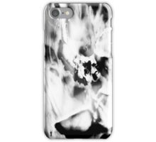 Psychmaster Flower 101 BW iPhone Case/Skin