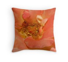 Pinky Peach Throw Pillow