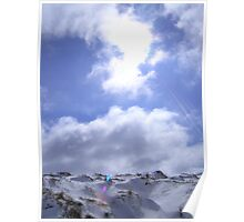 Snow and Sky Poster