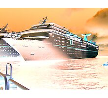 Fantasy Cruiser Photographic Print