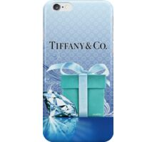 Tiffany Blue Box & Huge Diamond iPhone Case/Skin