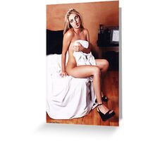 Playboy Reject Greeting Card