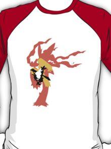 Mega Blaziken Evolution line T-Shirt