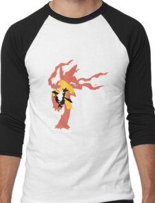 Mega Blaziken Evolution line Men's Baseball ¾ T-Shirt
