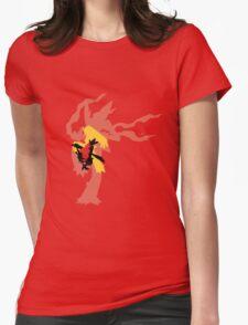 Mega Blaziken Evolution line Womens Fitted T-Shirt