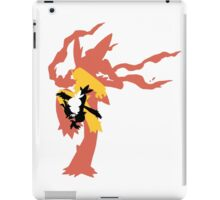 Mega Blaziken Evolution line iPad Case/Skin