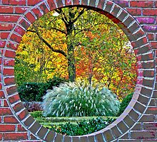 Porthole to Fall.. by LjMaxx