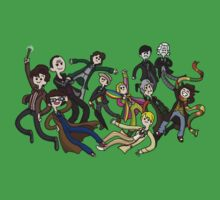 Adventure Time For Doctor Who Kids Clothes