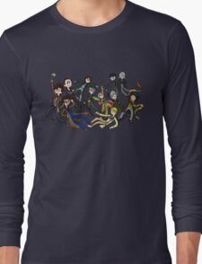 Adventure Time For Doctor Who Long Sleeve T-Shirt