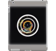 Natures bullseye, multicolor, flipped photo iPad Case/Skin