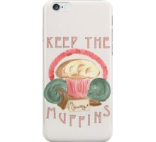 Crowley's Muffins iPhone Case/Skin