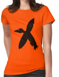 Soaring Bird 2  Womens Fitted T-Shirt