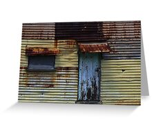 Miners Shack Greeting Card