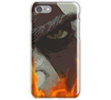 Kratos in Fire iPhone Case/Skin