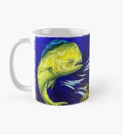 Mahi Mahi on blue & yellow Mug