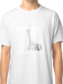 Silhouette giraffe Classic T-Shirt