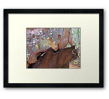 Rusted hopper Framed Print