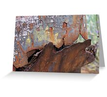 Rusted hopper Greeting Card
