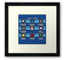 Select Gym Framed Print