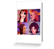 Venture Bros. Greeting Card