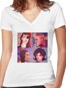 Venture Bros. Women's Fitted V-Neck T-Shirt