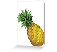 Pineaple Emoji Greeting Card
