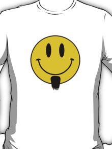 Smiley goatee beard. T-Shirt