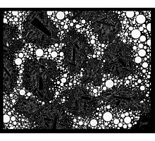 Stochastic - Black Photographic Print