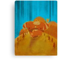Robotmo! Canvas Print