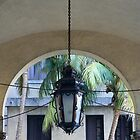 Hanging lamp by Maggie Hegarty