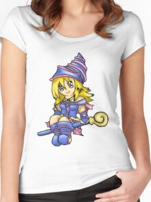 Dark Magician Girl Women's Fitted Scoop T-Shirt