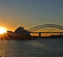 Mrs Macquarie's Sunset by 59Photography