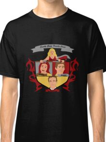 Buffy the Vampire Slayer Scooby Gang Family Crest Classic T-Shirt
