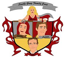 Buffy the Vampire Slayer Scooby Gang Family Crest by Becca C. Smith