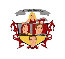 Buffy the Vampire Slayer Scooby Gang Family Crest Photographic Print