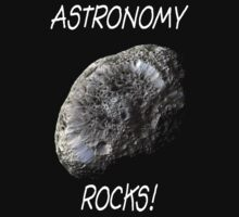 Astronomy Rocks! Kids Tee