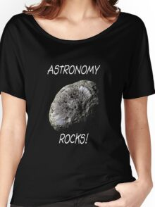 Astronomy Rocks! Women's Relaxed Fit T-Shirt