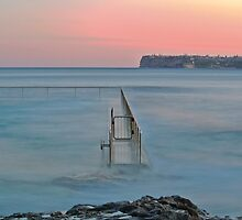Fairlight Tidal Pool by 59Photography
