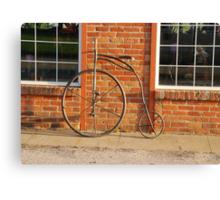 Old Bike Canvas Print