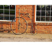 Old Bike Photographic Print