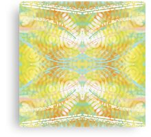 Bright Colorful Spring Butterfly Abstract Canvas Print