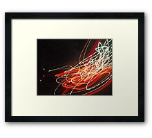 Distorted Reality Framed Print