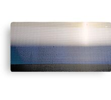 Metal Sunset Canvas Print