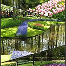 Tulip Time - Keukenhof Collage (Portrait Format) by MidnightMelody